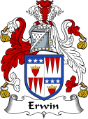Scottish Coat of Arms for Erwin