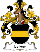 German Wappen Coat of Arms for Leiner