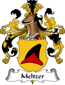 German Wappen Coat of Arms for Meltzer
