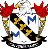 American Coat of Arms for Converse