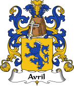 Coat of Arms from France for Avril