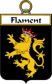 French Coat of Arms Badge for Flament