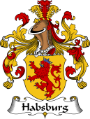 German Wappen Coat of Arms for Habsburg