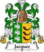 Coat of Arms from France for Jacques