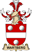 Republic of Austria Coat of Arms for Wartberg