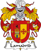 Spanish Coat of Arms for Lamadrid