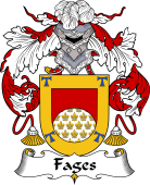 Spanish Coat of Arms for Fages or Faguez