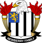 American Coat of Arms for Newberry