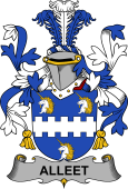 Irish Coat of Arms for Alleet