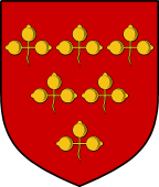 English Family Shield for Trowell