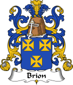 Coat of Arms from France for Brion