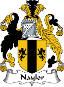 English Coat of Arms for Naylor