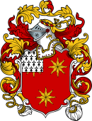 English or Welsh Coat of Arms for Leverton (Ref Berry)