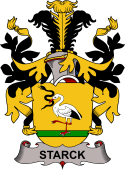 Swedish Coat of Arms for Starck