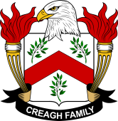 American Coat of Arms for Creagh