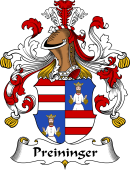 German Wappen Coat of Arms for Preininger