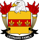 American Coat of Arms for Leonard