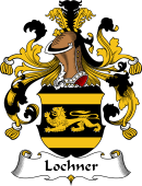 German Wappen Coat of Arms for Lochner