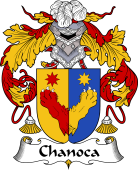 Portuguese Coat of Arms for Chanoca