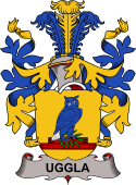 Swedish Coat of Arms for Uggla