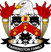 American Coat of Arms for Farrington