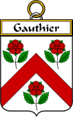 Gauthier French Coat of Arms