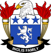 American Coat of Arms for Inglis