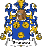 Coat of Arms from France for Bruneau