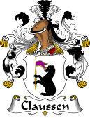 German Wappen Coat of Arms for Claussen