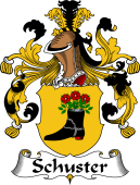 German Wappen Coat of Arms for Schuster