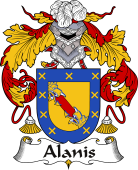 Spanish Coat of Arms for Alanis