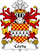 Welsh Coat of Arms for Coety (Lords of Coety, Glamorganshire)