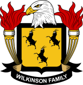American Coat of Arms for Wilkinson