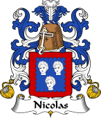 Coat of Arms from France for Nicolas