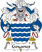 Spanish Coat of Arms for Goyanes