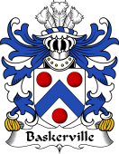 Welsh Coat of Arms for Baskerville (of Eardisley, Herefordshire)