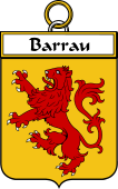 French Coat of Arms Badge for Barrau