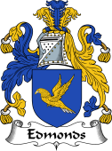 English Coat of Arms for Edmonds
