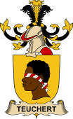 Republic of Austria Coat of Arms for Teuchert