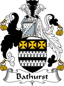 English Coat of Arms for Bathhurst