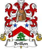 Coat of Arms from France for Brillon