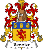 Coat of Arms from France for Bonnier
