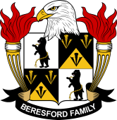 American Coat of Arms for Beresford