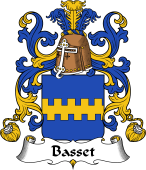 Coat of Arms from France for Basset
