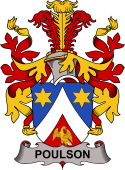 Danish Coat of Arms for Poulson