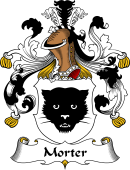 German Wappen Coat of Arms for Morter