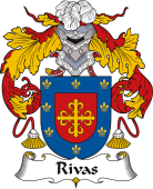 Spanish Coat of Arms for Rivas or Ribas I