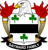 American Coat of Arms for Sayward