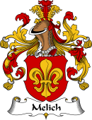 German Wappen Coat of Arms for Melich