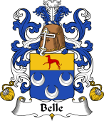 Coat of Arms from France for Belle